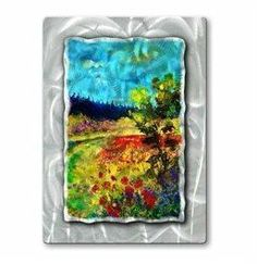 All My Walls POL00468 Summer Colors Metal Wall Art by All My Walls. $327.00. Add a touch of class to your home decor with our extensive line of metal wall art pieces featuring Belgium artist Pol Ledents watercolor and oil paintings. These metal wall hangings consist of torch-cut 18-gauge steel layers stud construction and one-of-a-kind hand-sanding which creates a three dimensional visual effect that is comparable to a hologram. With over 500 paint...