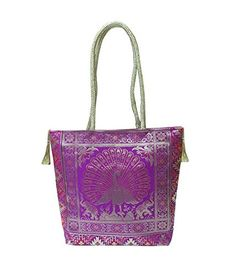 Bhamini Purple Silk Gold Kissed Benarasi Handbag * Visit the image link more details. (This is an affiliate link) Clutch Wallet, Clutch Handbags, Clutches For Women, Evening Bags, Women Jewelry, Shoulder Bag, Silk, Purses, Image Link