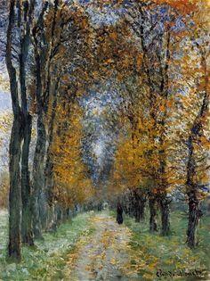 The Avenue - Claude Monet, 1878.