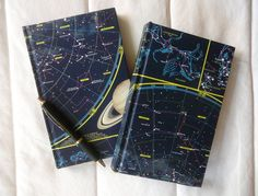 Celestial map notebooks