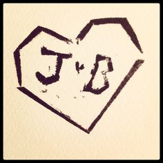 Our wedding logo: Jonathan & Bethany