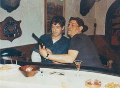 Al Lettieri with Al Pacino (Sollozzo and Corleone in The Godfather)