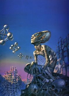 Space, time, and Nathaniel, por Bruce Pennington