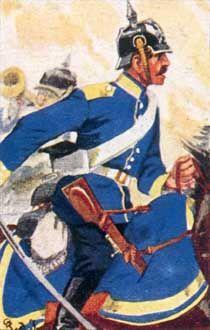 Preußische Dragoner-Regimenter 1866