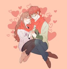 Image about cute in Mystic Messenger by lale ☆彡 Mystic Messenger Fanart, Mystic Messenger Characters, Anime Girls, Luciel Choi, Anime Tumblr, Saeran, Couple Drawings, Cute Anime Couples, Anime Love