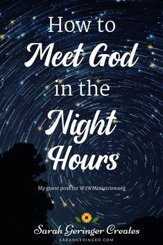 Bible Study:Dealing with insomnia? You can use the night hours to meet with God in prayer and Christian meditation. Learn more tips on this practical post. Women Of Faith, Faith In God, Faith Walk, Christian Faith, Christian Living, Christian Women, Christian Movies, Christian Marriage, Hope In Jesus
