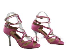 Natural Spin Designer Salsa Shoes/Tango Shoes/Fashion Shoes(Open Toe, Leather):