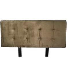 MJL Furniture Ali Button Tufted Ennis Coffee Upholstered Headboard (California King), Brown