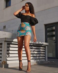 Stylish And Charming Christmas Ankara Styles - Fashion Ruk African Print Skirt, African Print Dresses, African Print Fashion, African Attire, African Wear, Short Ankara Dresses, Look Fashion, Fashion Outfits, Latest African Fashion Dresses