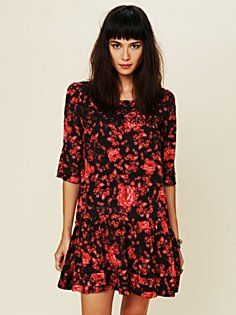 Floral Print Shapeless