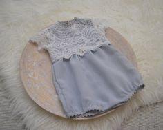 Newborn Romper Newborn Photo Prop Newborn Girl Outfit Light