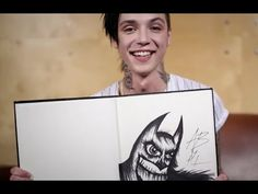 "Arts & Chats: Andy Biersack of Black Veil Brides draws and talks fan expectations and rock stars. ""Andy Biersack of Black Veil Brides is an astute observer with wisdom beyond his years regarding human interactions and what makes people tick and pay attention, which he displays in this philosophical new interview with him, where he also showcases his art style. ""  Warning: Mild language"