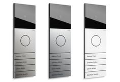 carus iris audio and video doorstations. Black Bedroom Furniture Sets. Home Design Ideas