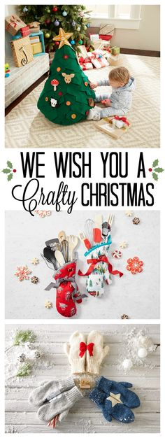 Never worry about giving someone a gift they have already recieved. Once you make these Christmas crafts, you'll be known as queen of the crafts! Be the talk of the party. Be inspired. JoAnn.com.