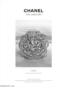 Chanel white gold diamond ring -gorgeous.