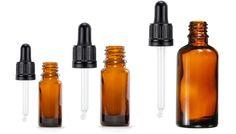 Butelki szklane brązowe z zakraplaczem czarnym szklanym nadają się wspaniale do przechowywania kosmetyków, wyciągów roślinnych, olejków eterycznych, itp. Są specjalnie zaprojektowane aby chronić zawartość przed promieniowaniem UV, dzięki czemu są idealnym rozwiązaniem do przechowywania substancji wrażliwych na promieniowanie słoneczne.  Zakraplacz idealnie odmierza wymaganą ilość substancji.  Butelka posiada certyfikat dopuszczający do użytku farmaceutycznego, kosmetycznego i spożywczego.