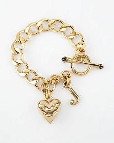 Juicy Couture Starter Bracelet.... happy to have so many charms !!!!