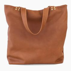 A seriously beautiful tote in Italian leather from Marketa.