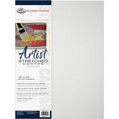 "Royal Brush Essentials(R) Premium Stretched Canvas-20""X30"" - 20""x30"" 20""x30"""