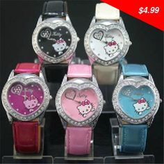 This is nice, check it out! Cute Hello Kitty Diamond Watch Girls Ladies Children Watch Quartz Cartoon Watch #AX - US $4.99 http://cheaponlineshopping1.info/products/cute-hello-kitty-diamond-watch-girls-ladies-children-watch-quartz-cartoon-watch-ax/