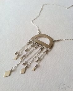 Jellyfish necklace.