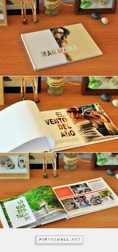 Me ha gustado esta revista porque está encuadernada en cartoné, se suele dar poco esta ecuadernación en revistas. Wedding Album Design, Wedding Book, Ed Design, Print Design, Album Photo, Photo Book, Catalogue Layout, Newsletter Design, Catalog Design