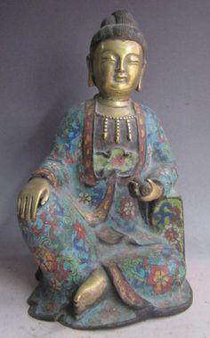 beautiful old chinese figurine