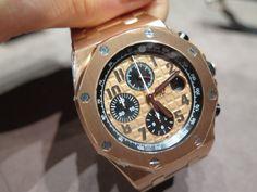 Audemars Piguet Royal Oak Offshore 18k Rose Gold Chronograph Automatic on Bracelet - Google Search