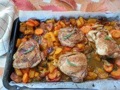 Őszi színkavalkád és csupa egészséges finomság egy könnyen elkészíthető, gluténmentes ételben. Vasárnapi ebédként kötelező kipróbálni!