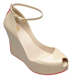 Melissa Patchuli beige with red stripe. Want a melissa soon.