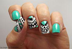 Ma récidive de Nail Art Aztec