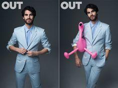 Darren Criss: Ready for Summer   Out Magazine
