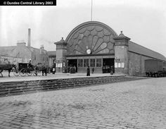 Former Dundee East Station - beautiful old photo.