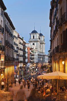Calle Mayor en Madrid ..cuanto echo de menos esto....