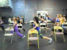 ▶ Fiesta Chair Fitness Choroegraphy - YouTube