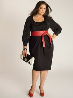 TOP 10 BLACK DRESSES FOR #PLUS #SIZED #WOMEN black-dresses-for-plus-sized-women_01