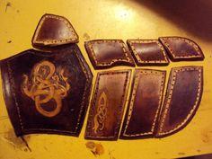 Padded Glove II WIP by ~Aranglinn on deviantART