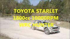 TOYOTA STARLET 1800cc 10000RPM WRC HUNTER