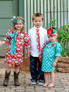 HOLLY - Girls Dress – Little Girl Clothing - Peasant Style Dress - Toddler Clothing - Christmas Dress -  M2m Matilda Jane - Children