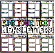 how to make a newsletter template