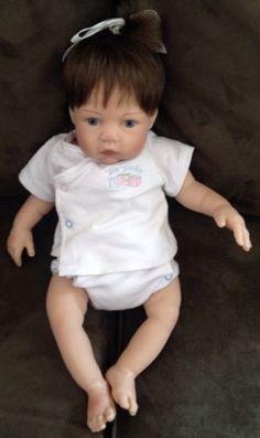 Secrist Preemie Zoe Reborn Baby Doll 17 Inch Baby Lauren