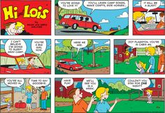 Hi and Lois Comic Strip for July 20, 2014