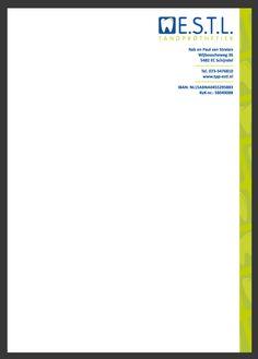 Briefpapier ontwerp ESTL