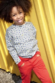 petit bateau automne/hiver 2013 / Love This Her Crazy Curls Are Dope & The Outfit Is So Cute On Her