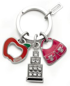 COACH FASHIONS NIGHT OUT KEY RING