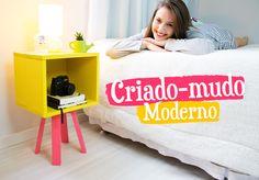DIY – CRIADO-MUDO MODERNO