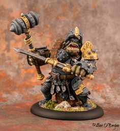 Privateer Press Warmachine Hordes Trollbloods Fennblade Kithkar Warhammer 40k Figures, Warhammer Models, 28mm Miniatures, Fantasy Miniatures, Warmachine Miniatures, Small Soldiers, Advanced Dungeons And Dragons, Privateer Press, Monster Design