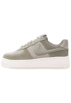 3b07447d36e Nike Sportswear AIR FORCE 1 UPSTEP PRM - Trainers - dark stucco ivory for  £89.99 (13 06 17) with free delivery at Zalando
