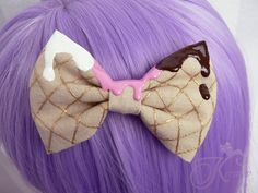 Hey, I found this really awesome Etsy listing at https://www.etsy.com/listing/232874829/lolita-bow-ice-cream-light