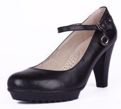 Barato Sapatos femininos scarpin sapatos único couro de salto alto moda todo o jogo, Compro Qualidade Bombas diretamente de fornecedores da China:              Lista de Produtos Opção          Nota: As seguintes informações são apenas para referê
